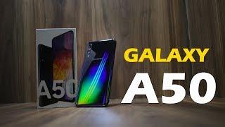 Samsung Galaxy A50 review - इंद्रधनुष color, Triple camera, sAMOLED? is it worth it?