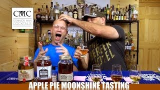 Firefly, Ole Smoky, Midnight Moon And Grandmas Apple Pie Moonshine Review / Tasting