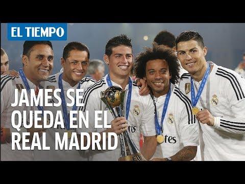 A James ya le dijeron que se queda en el Real Madrid | EL TIEMPO