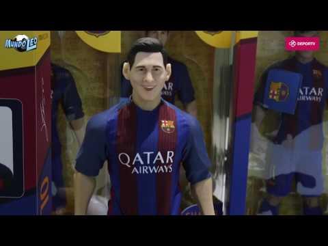 #MundoLeo: Así será el muñeco articulado de Messi