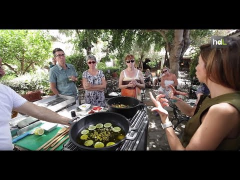 Cocina en directo como experiencia turística para los huéspedes