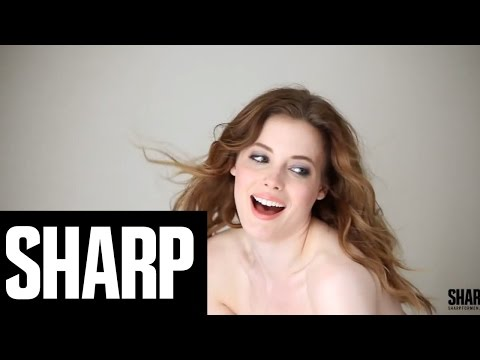 Community's Gillian Jacobs x Sharp Magazine (SHARP - A Behind-The-Scenes Look)