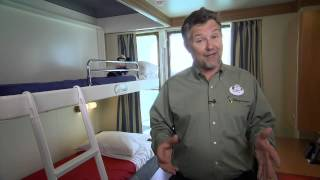 Disney Cruise Lines: Stateroom Tour