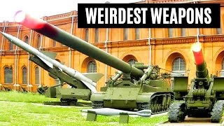 The Weirdest Military Weapons That Will Amaze You !!!!!!!!