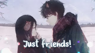 Nightcore   Just Friends || Lyrics