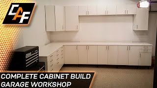 Ikea Sektion Cabinets - Installing Garage Workshop - CAFfablab