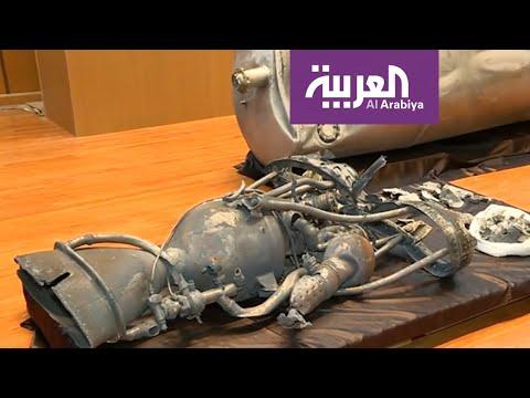 العرب اليوم - شاهد: شاهد الصاروخ الحوثي الذي اعترضته الدفاعات السعودية فوق الرياض