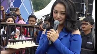Gambar cover Ciee Chand Kelvin Kasih Kue Ulang Tahun Untuk Siti Badriah - Gentara (13/11)