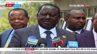 Raila meets Mt.Kenya governors, discuss Meru BBI rally slated for Saturday