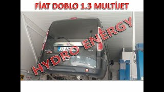 Fiat doblo 1.3 dizel hidrojen yakıt tasarruf sistem montajı