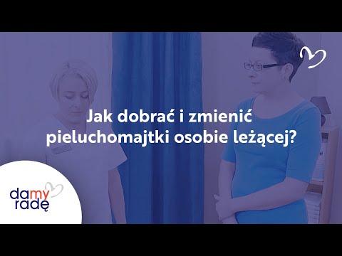 Zmiana pieluchomajtek - dowiedz się dobrać i zmienić pieluchę osobie leżącej