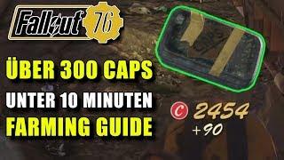 Über 300 Kronkorken unter 10 Minuten | Caps Farming Guide | Fallout 76