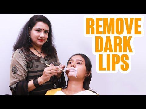 How to Lighten Dark Lips | Naturally | Home remedies