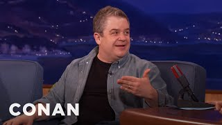 Patton Oswalt Wanted Andy Serkis To Be A Ring-Bearer At His Wedding  - CONAN on TBS