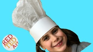 How To Make A Chef's Hat With Paper - World Book Day - Pancake Day - Master Chef Fans