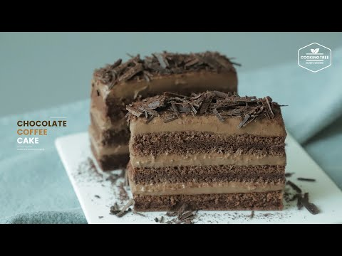 초콜릿 커피 케이크 만들기 : Chocolate Coffee Cake Recipe | Cooking tree