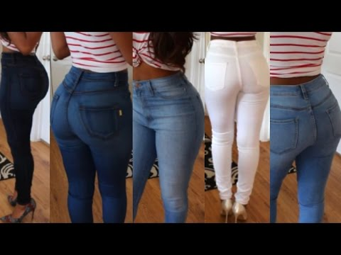 Butt Hugging Fashion Nova Jeans Haul (Try On)