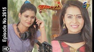 Manasu Mamata | 7th June 2019 | Full Episode No 2615 | ETV Telugu