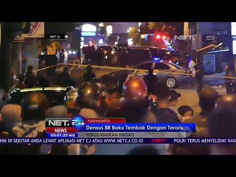 Baku Tembak Terjadi Saat Penangkapan Teroris-NET24