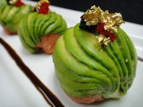 Amazing Edible Art – Spicy Tuna Bon Bon – How To Make Sushi Series