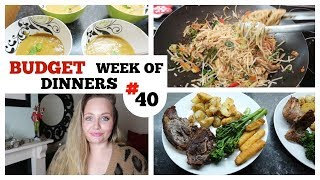 EASY WEEK OF FAMILY MEAL IDEAS / #40 / WHAT'S FOR DINNER , Frugal cooking on a budget
