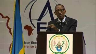 preview picture of video 'President Kagame opens the African Economic Conference- Kigali, 30 October 2012'