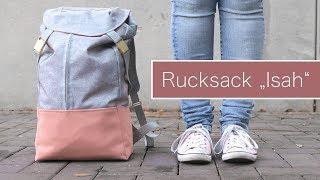 "Nähanleitung Rucksack ""Isah"" | kostenloses Schnittmuster!"
