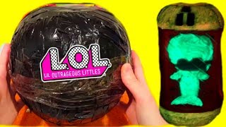 РЕДКАЯ ЧЁРНАЯ КАПСУЛА #ЛОЛ С ЧЕРВЯКОМ ВНУТРИ? New LOL Dolls Surprise DIY