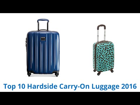 10 Best Hardside Carry-On Luggage 2016