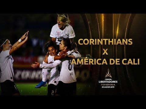 Corinthians 4 X 0 América De Cali Semifinal Libertadores
