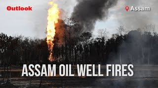 Assam Oil Well Fires Continues To Rage On - Download this Video in MP3, M4A, WEBM, MP4, 3GP
