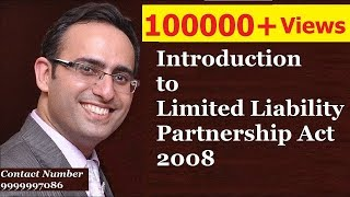 Introduction to Limited Liability Partnership Act 2008