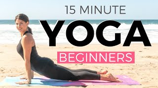 15 minute Yoga Workout for Beginners by SarahBethYoga