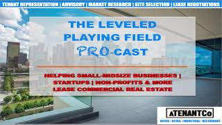 The Leveled Playing Field ProCast-Elements of a CRE Lease