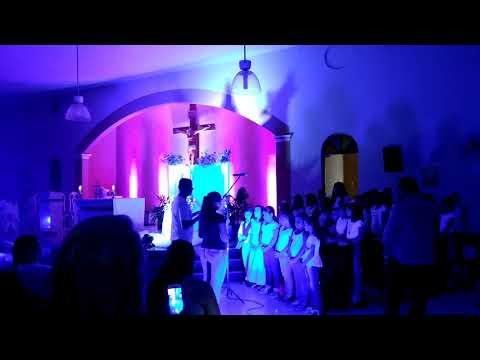 A coroação de Nossa Senhora das Graças em Baraúna RN 01/06/18