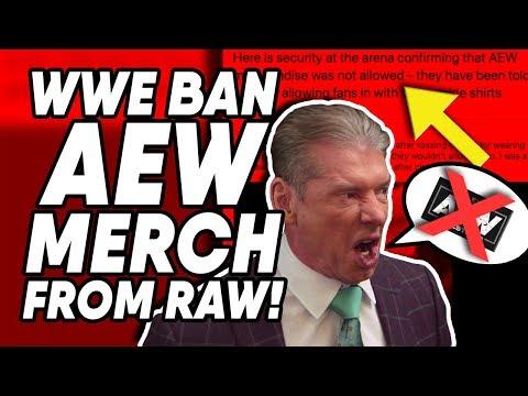 WWE Releases Coming SOON?! WWE Ban AEW Merchandise!   WrestleTalk News Oct. 2019
