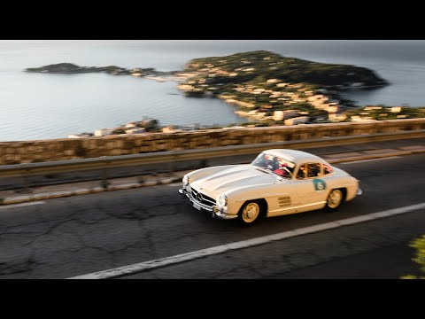 Image: Watch: Nico Rosberg drives his own 1955 Mercedes 300SL