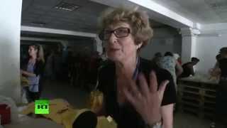 Жительница Луганска о гуманитарной помощи России: Теперь нам хочется жить