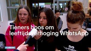 Tieners boos om leeftijdsverhoging: