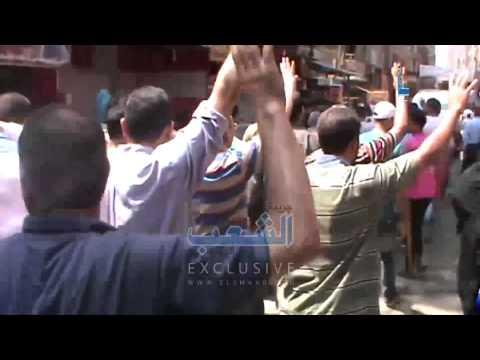 هتافات نارية بمسيرة رافضة للانقلاب بإمبابة