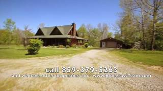 Artist Retreat, Log Cabin style home 46 acres, stream, Prepper property