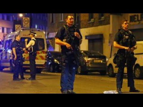 UK police call van attack 'suspected terror incident'