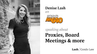 Denise Lash on AM640 Talk Radio