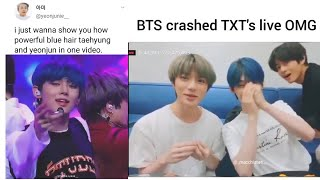 Army Tweets ft. TXT Coz Why Not.