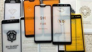 Какое защитное стекло выбрать? Сравнение всех видов стёкол на телефоны Xiaomi.
