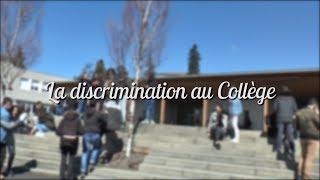 Parlons de la discrimination au collège