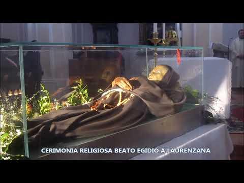 Preview video Video cerimonia religiosa Beato Egidio da Laurenzana 2020 Laurenzana 10 gennaio 2020