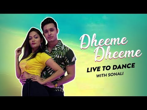 Dheeme Dheeme Dance Video | LiveToDance with Sonali | Tony Kakkar | Neha Sharma