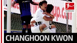 Dream Debut for South Korea International Changhoon Kwon - 1st Shot - 1st Goal
