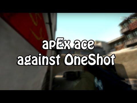 apEX ace against OneShot